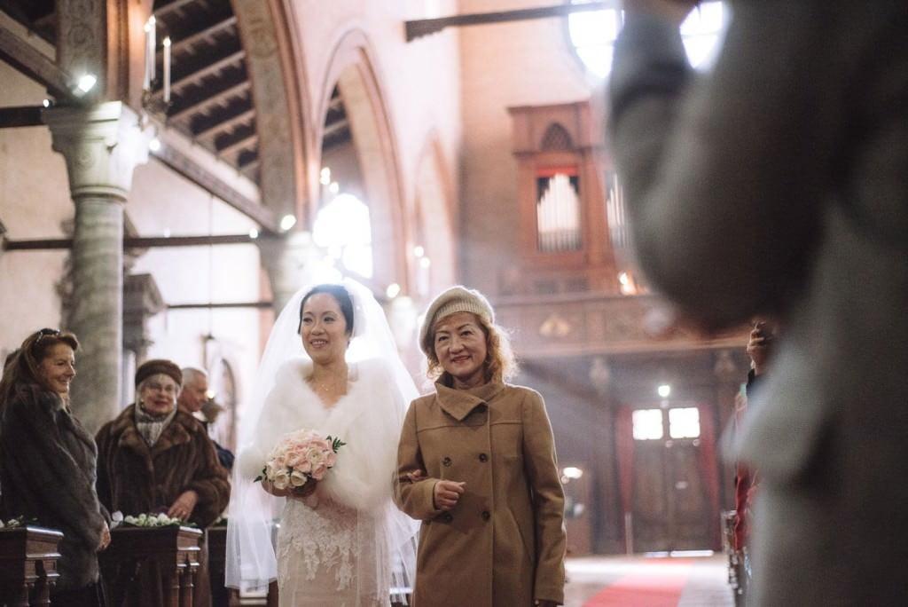 entrata sposa venezia