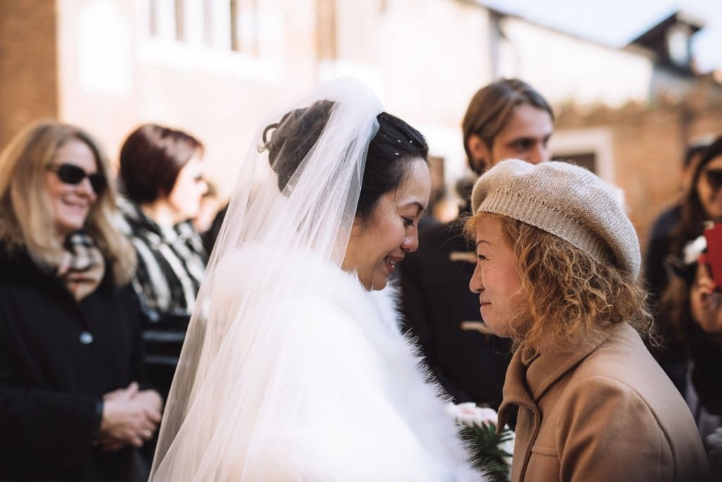 emozione mamma matrimonio venezia