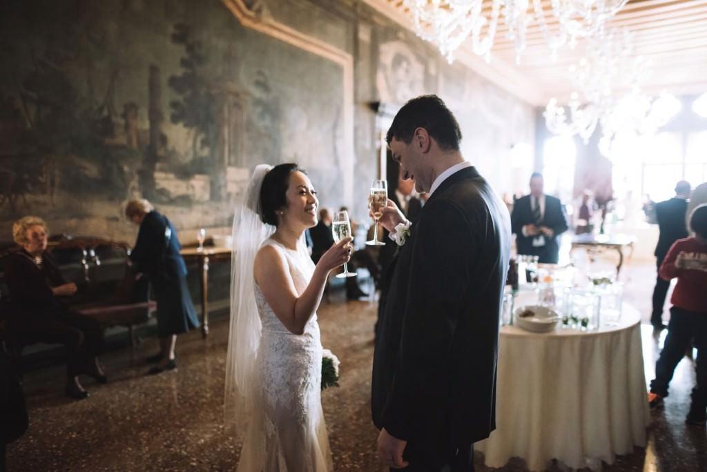 brindisi sposi matrimonio venezia