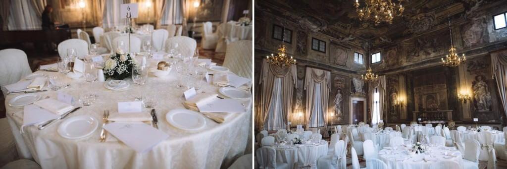 sala ricevimento hotel matrimonio venezia