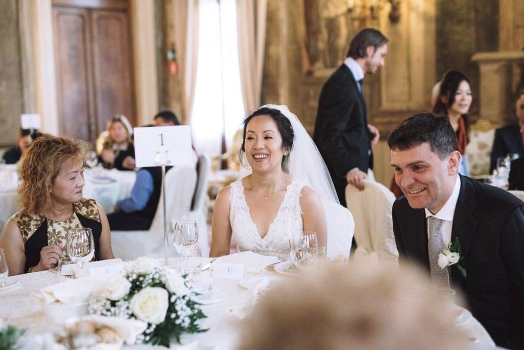 tavolo sposi matrimonio venezia