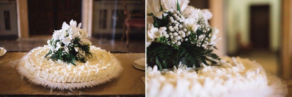torta nuziale matrimonio venezia