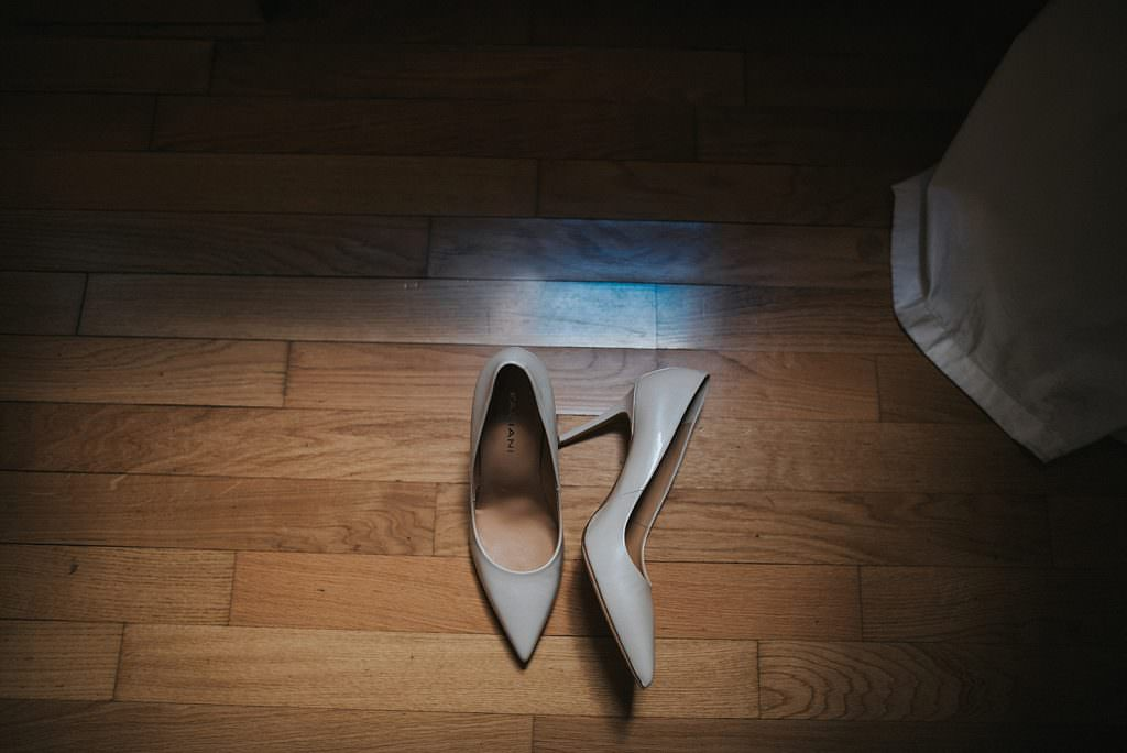 Wedding in Verona bride shoes