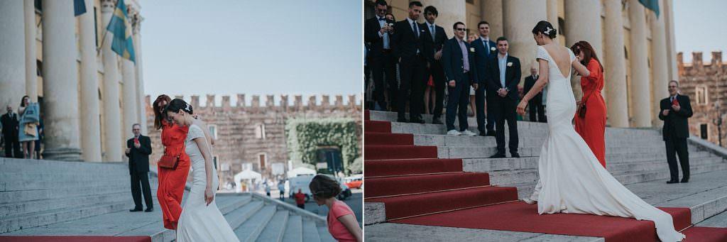 Wedding in Verona palazzo barbieri