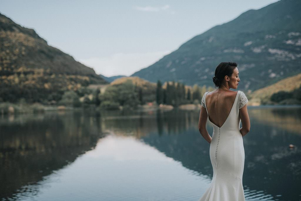 Wedding in trento toblino lake