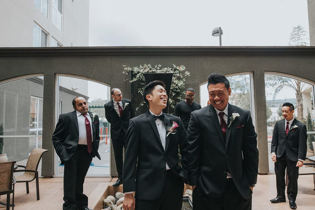 Wedding San Francisco bestmen
