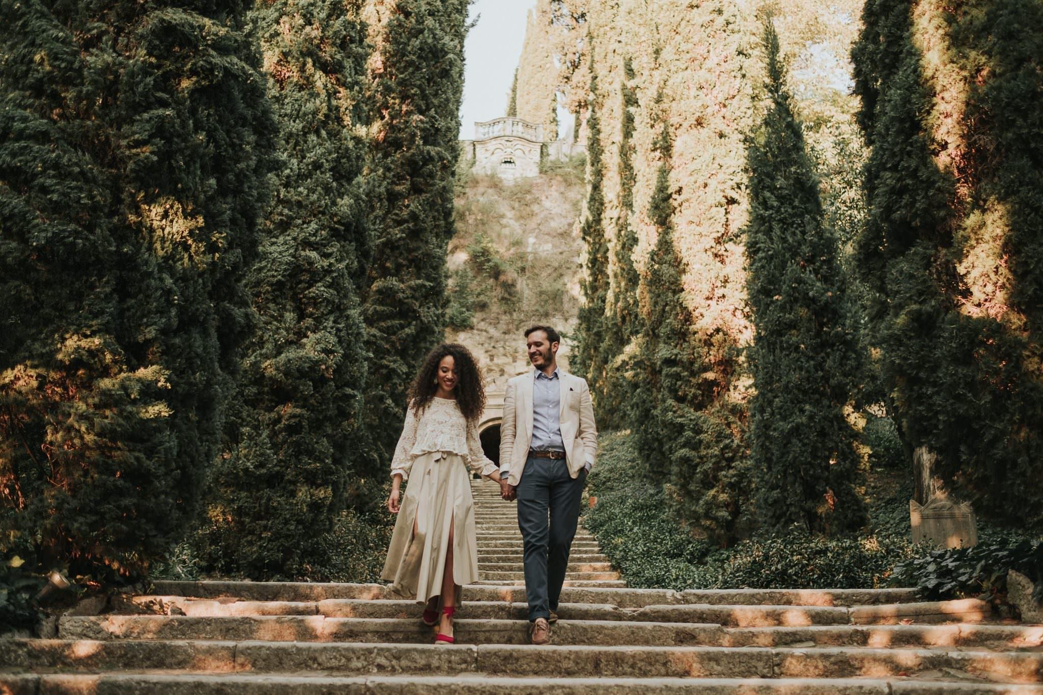 Servizio fidanzati a giardino giusti enrico eleonora